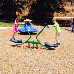 Children at Play at the CRPA Recreation Playground