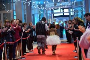 red carpet escort