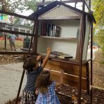 Little Free Library at Woodstock Trailhead