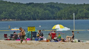 Campers, Boaters and Swimmers Head to the Lake