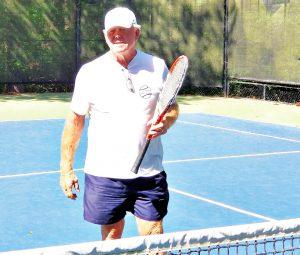 Tennis Lessons Bruce Swan Townelaker