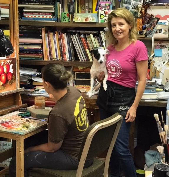 Debbie Tidwell local artist Impact Townelaker