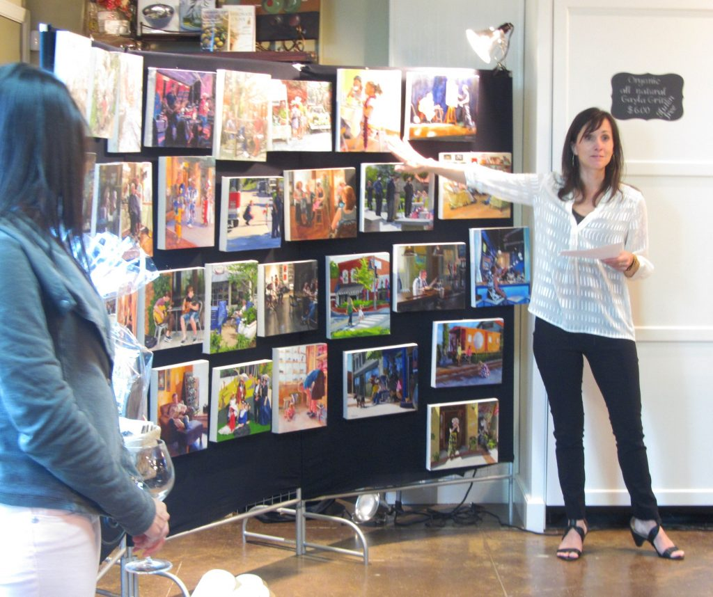 Kristina Havens local artist Impact Townelaker