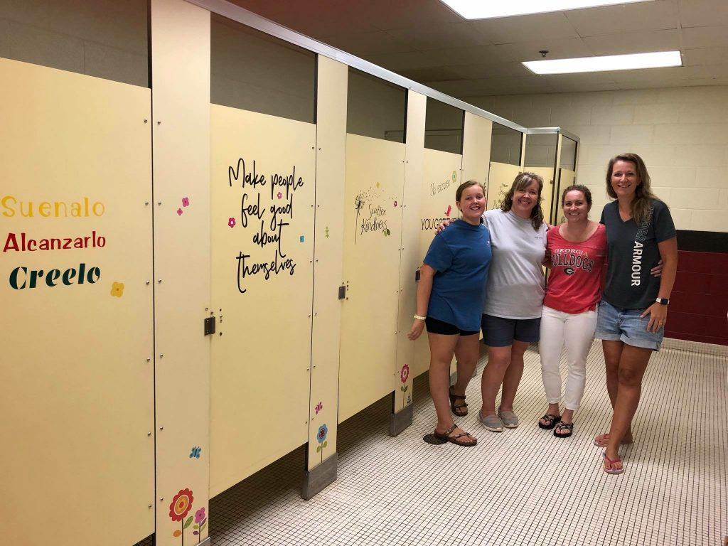 Carmel Elementary PTA Bathroom Townelaker