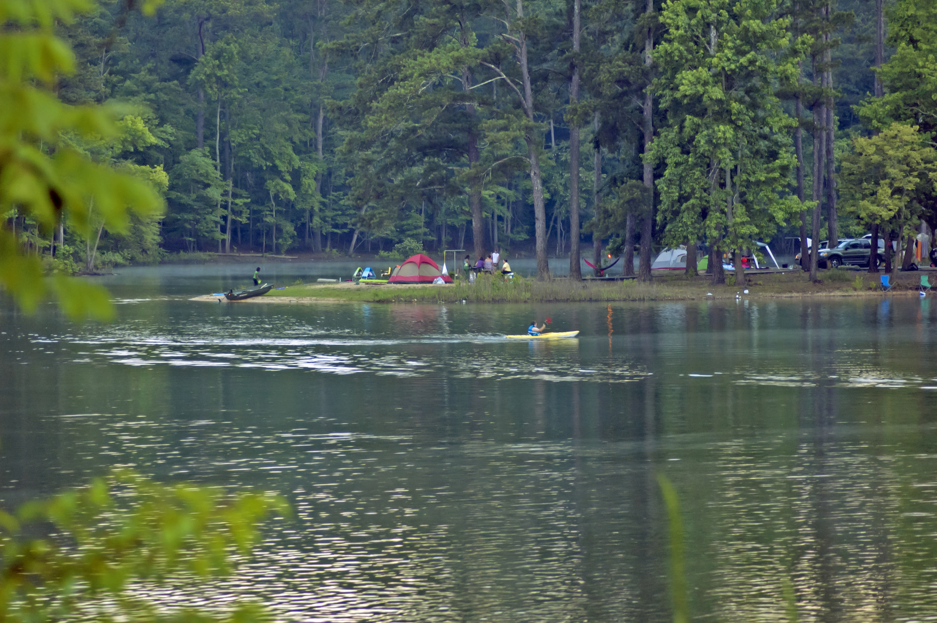 Camping on Allatoona Lake